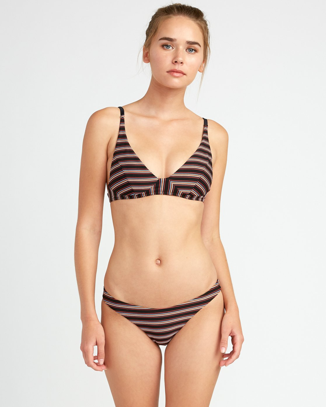 1 Bandit Striped Medium Bikini Bottoms  XB06URBM RVCA