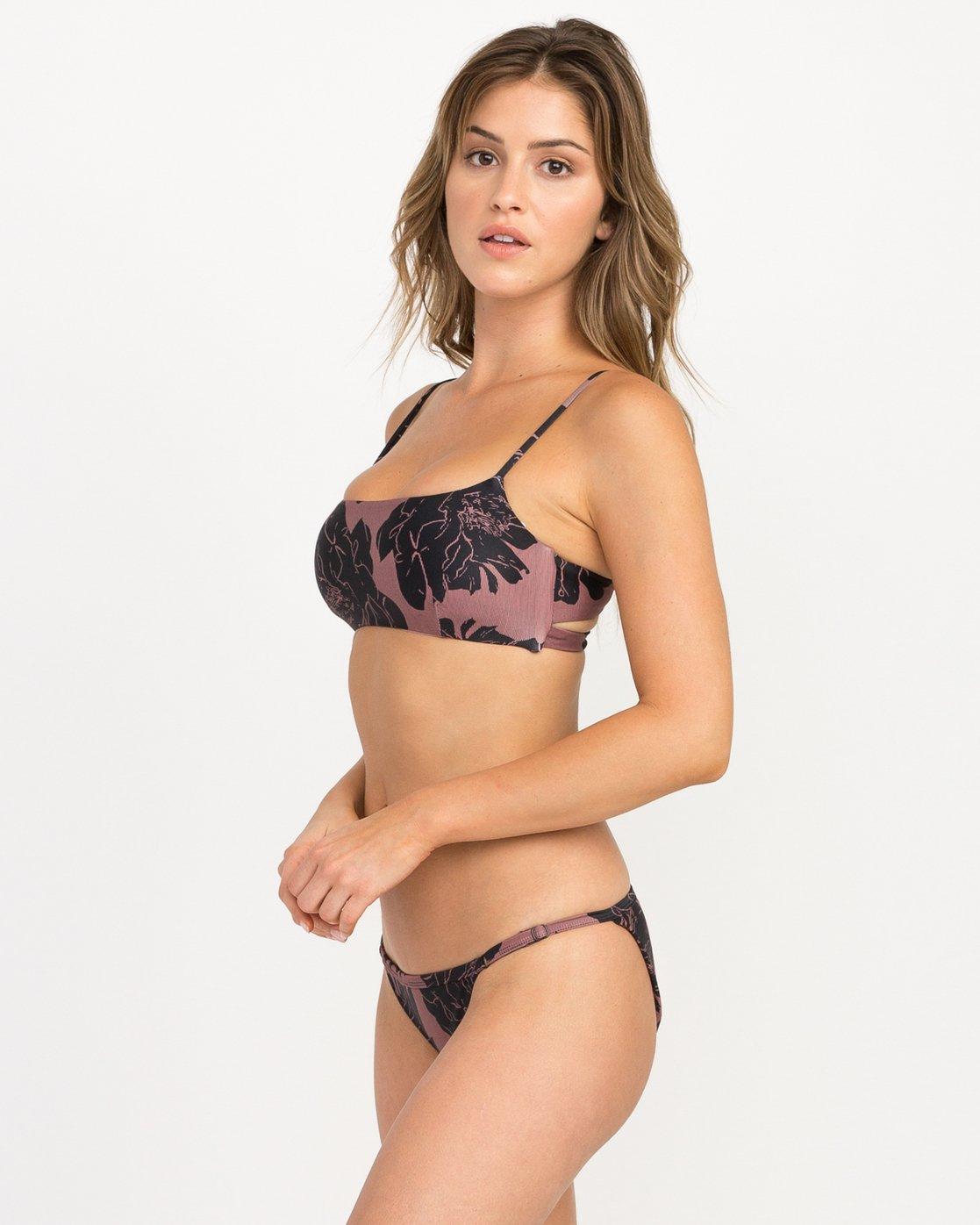 1 Peony Floral Medium Bikini Bottoms Pink XB13QRPM RVCA