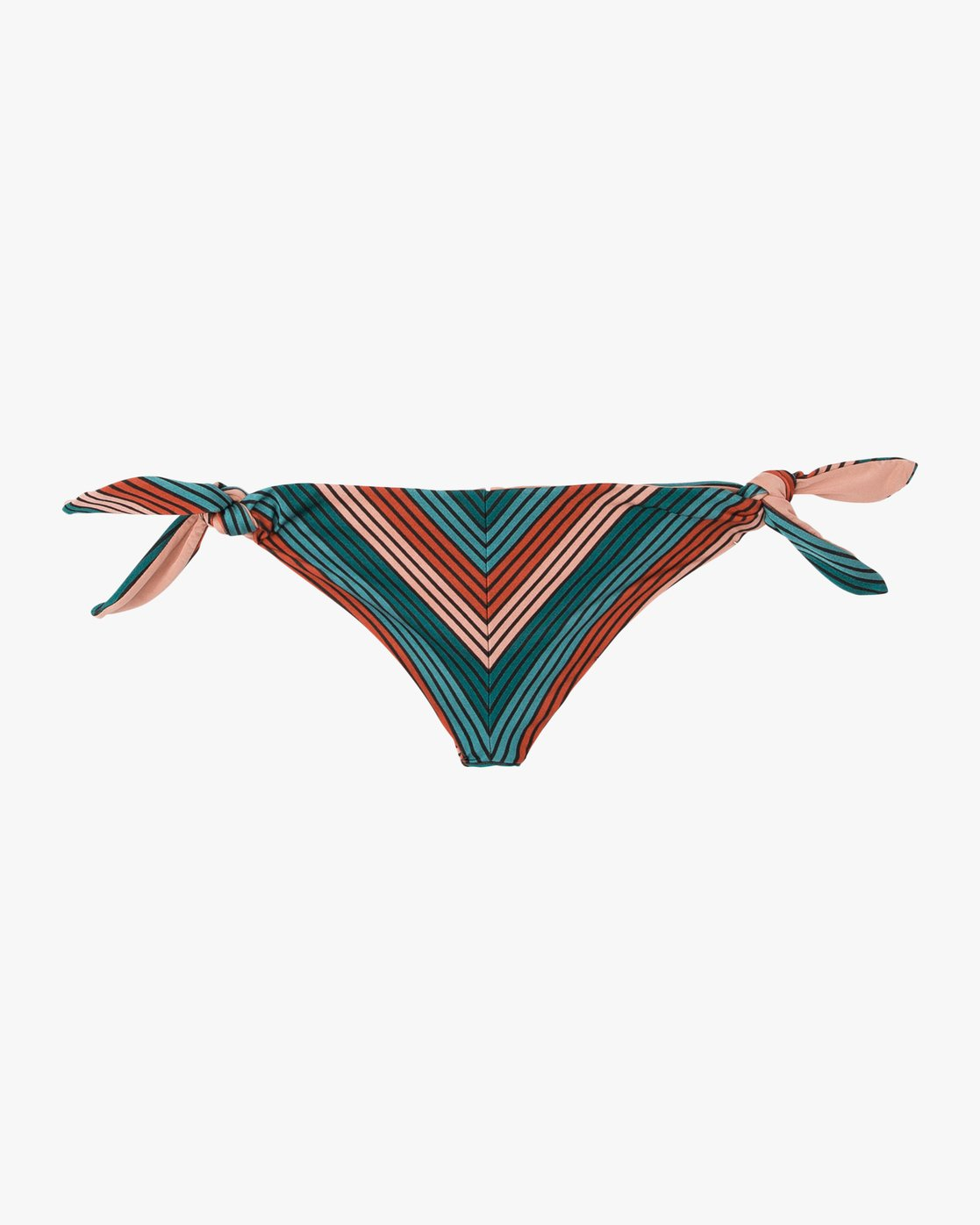 5 Frame Striped Cheeky Bikini Bottoms Multicolor XB16SRFC RVCA
