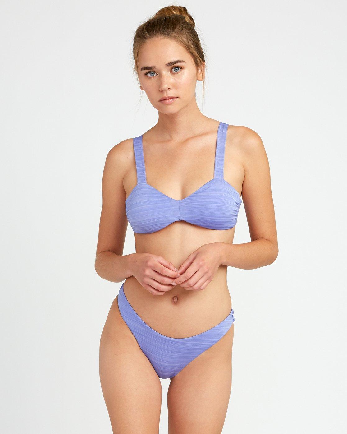 2 Rowan Skimpy Bikini Bottoms Blue XB16URRS RVCA