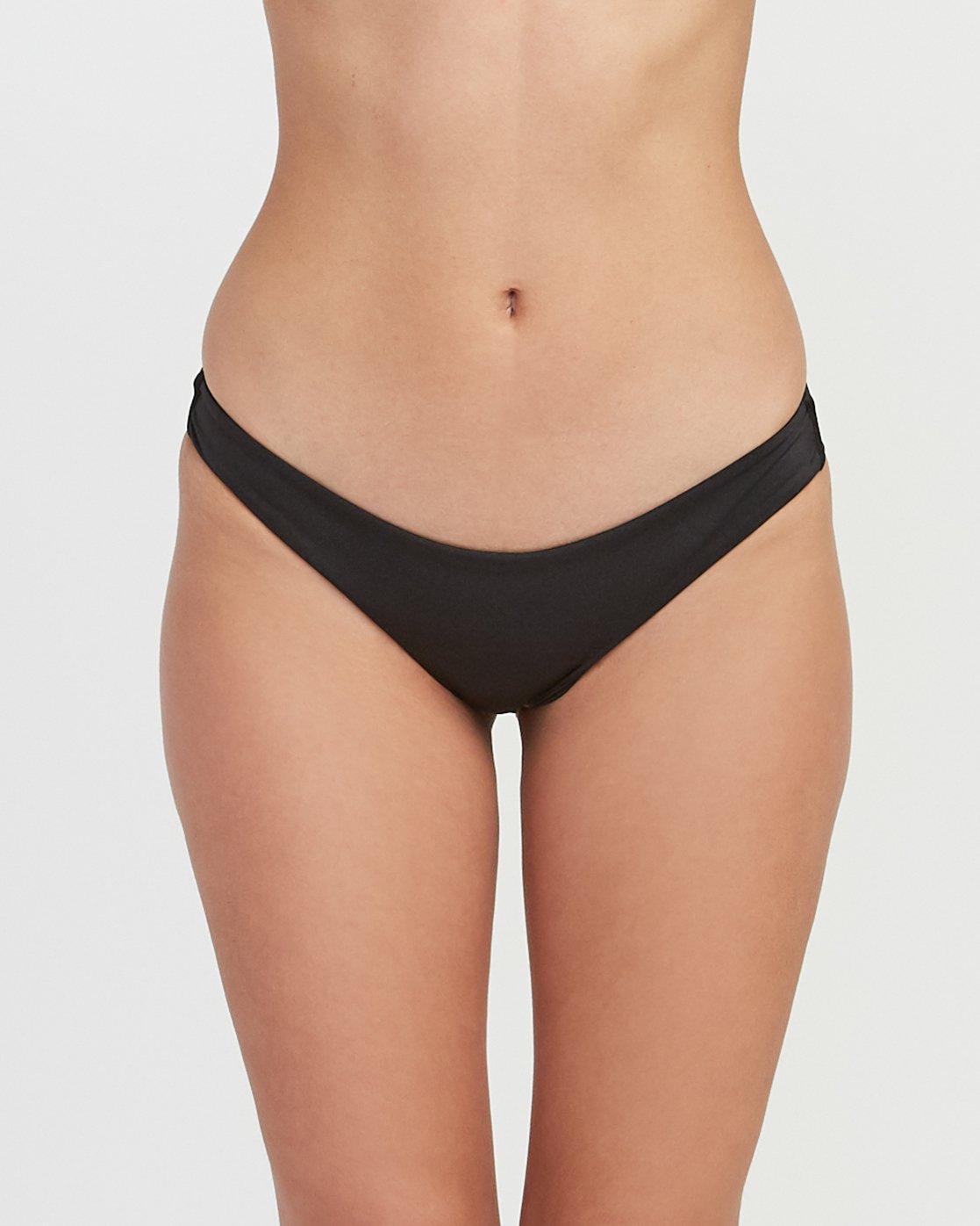 3 Solid Shimmer Isle Skimpy Bikini Bottom  XB21QRIS RVCA