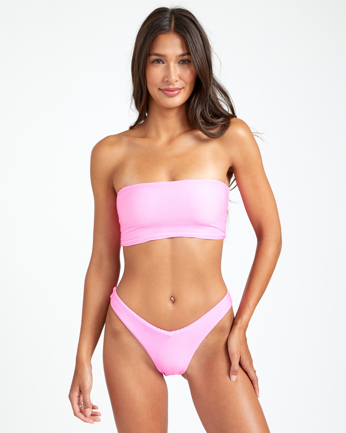 3 SALT WASH FRENCH BIKINI BOTTOM Pink XB243REF RVCA