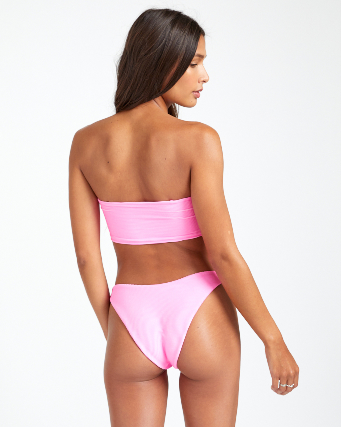 4 SALT WASH FRENCH BIKINI BOTTOM Pink XB243REF RVCA