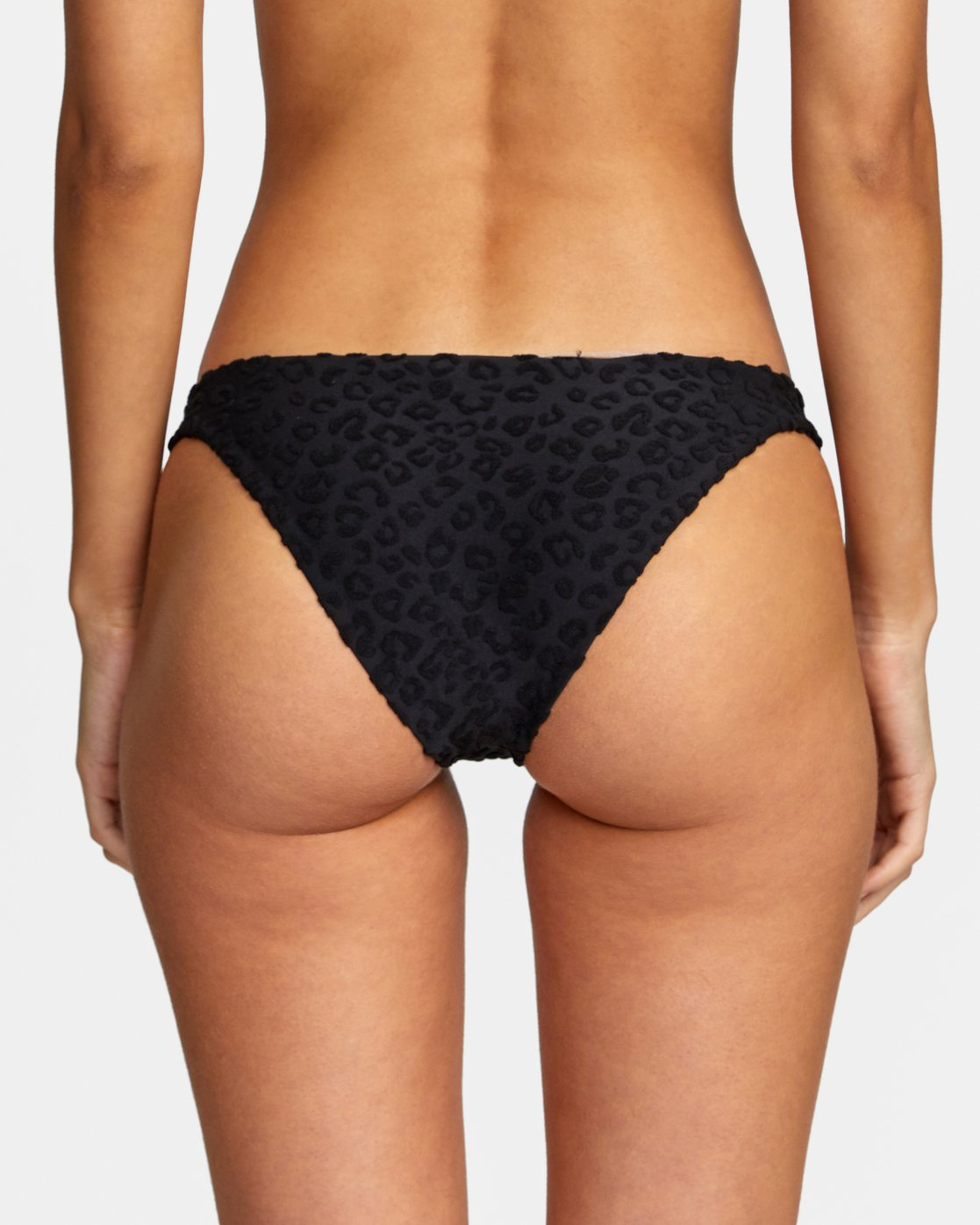 5 WoWild Medium Bikini Bottom Black XB542RWM RVCA