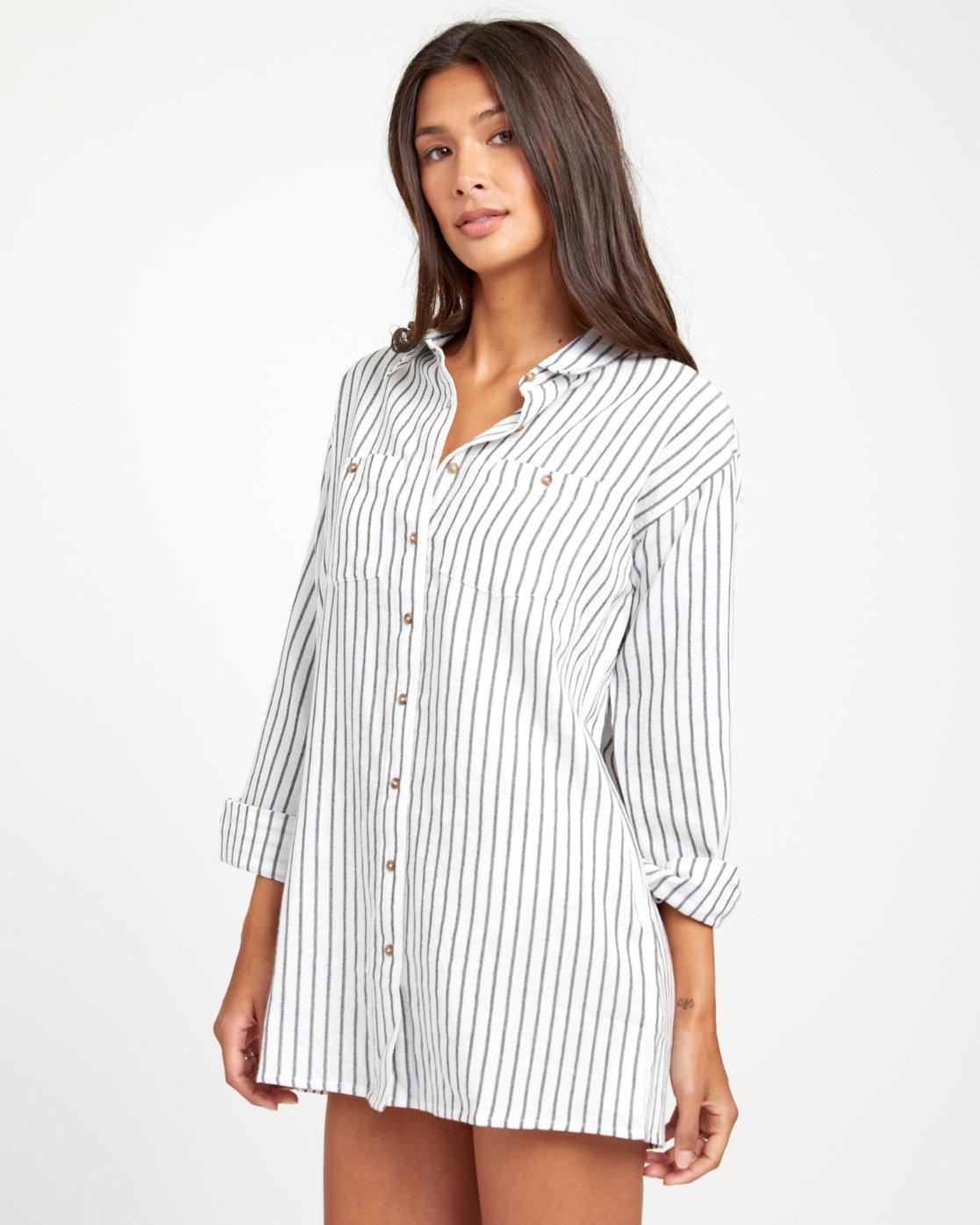 2 EDEN DRESS White XC013RED RVCA