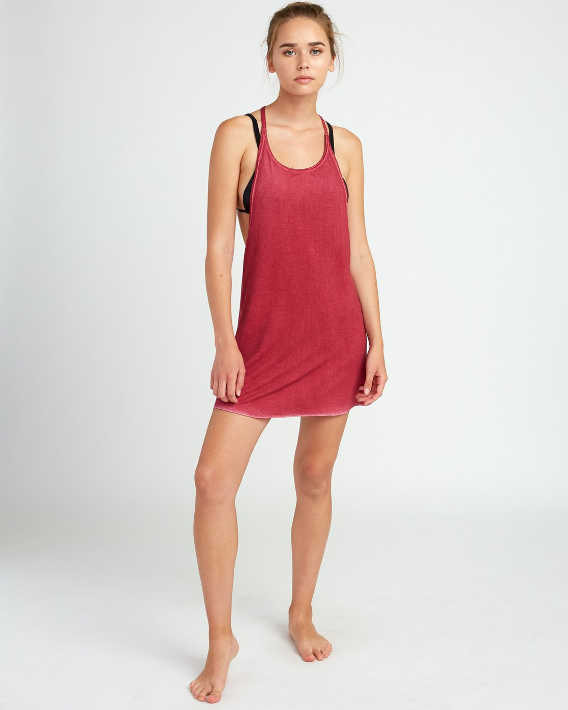 3 Backside Tank Dress Red XC03TRBC RVCA