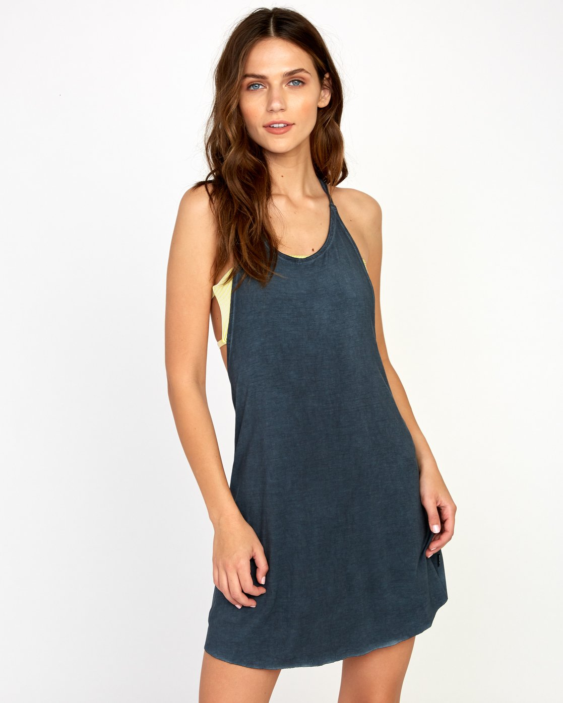 0 Backside Tank Dress Grey XC03TRBC RVCA