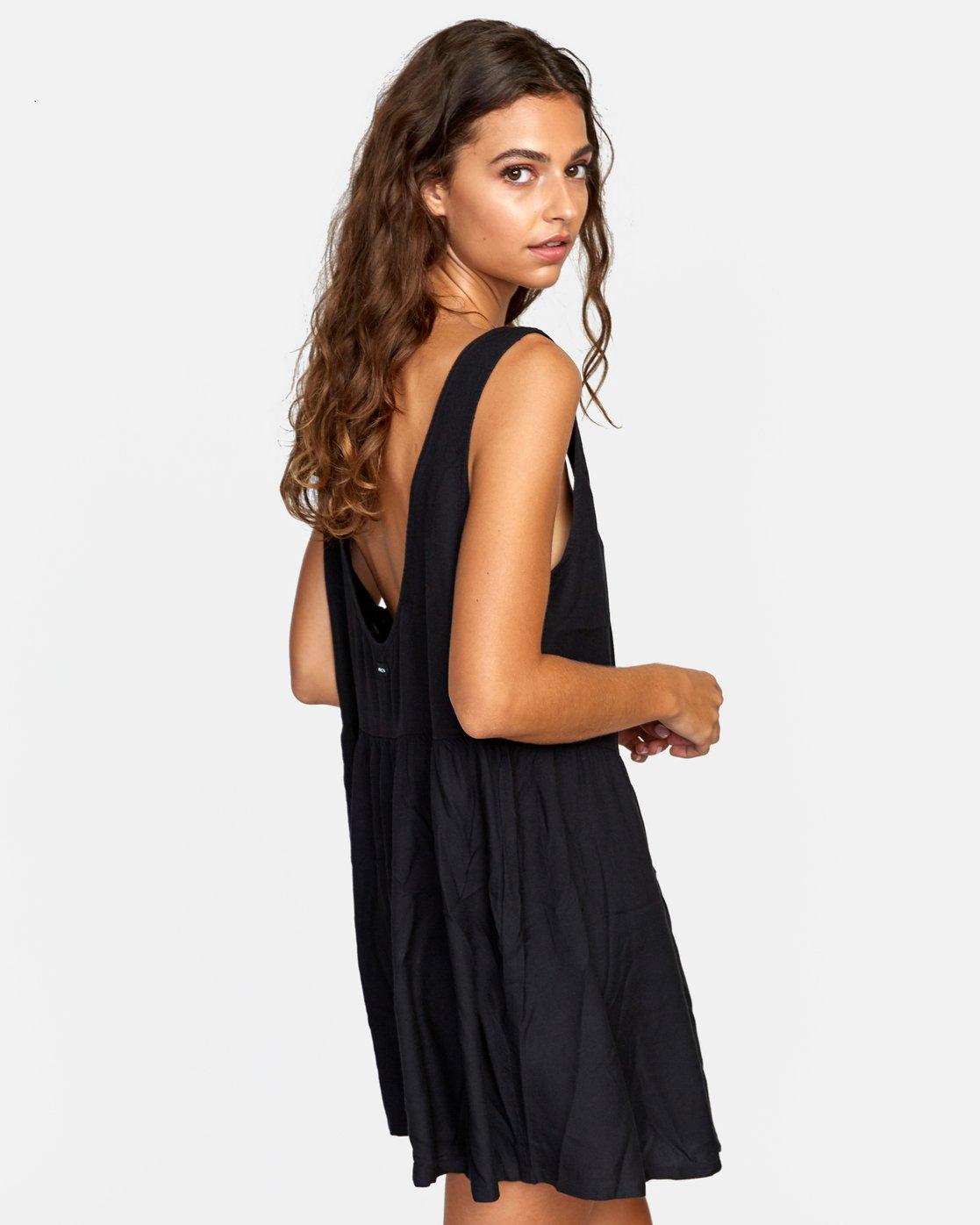 4 JORY DRESS Black XC052RJO RVCA
