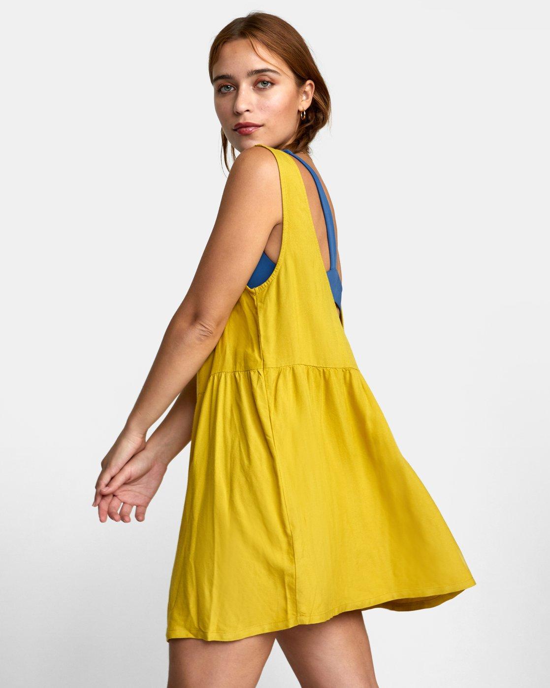 4 JORY DRESS Orange XC052RJO RVCA