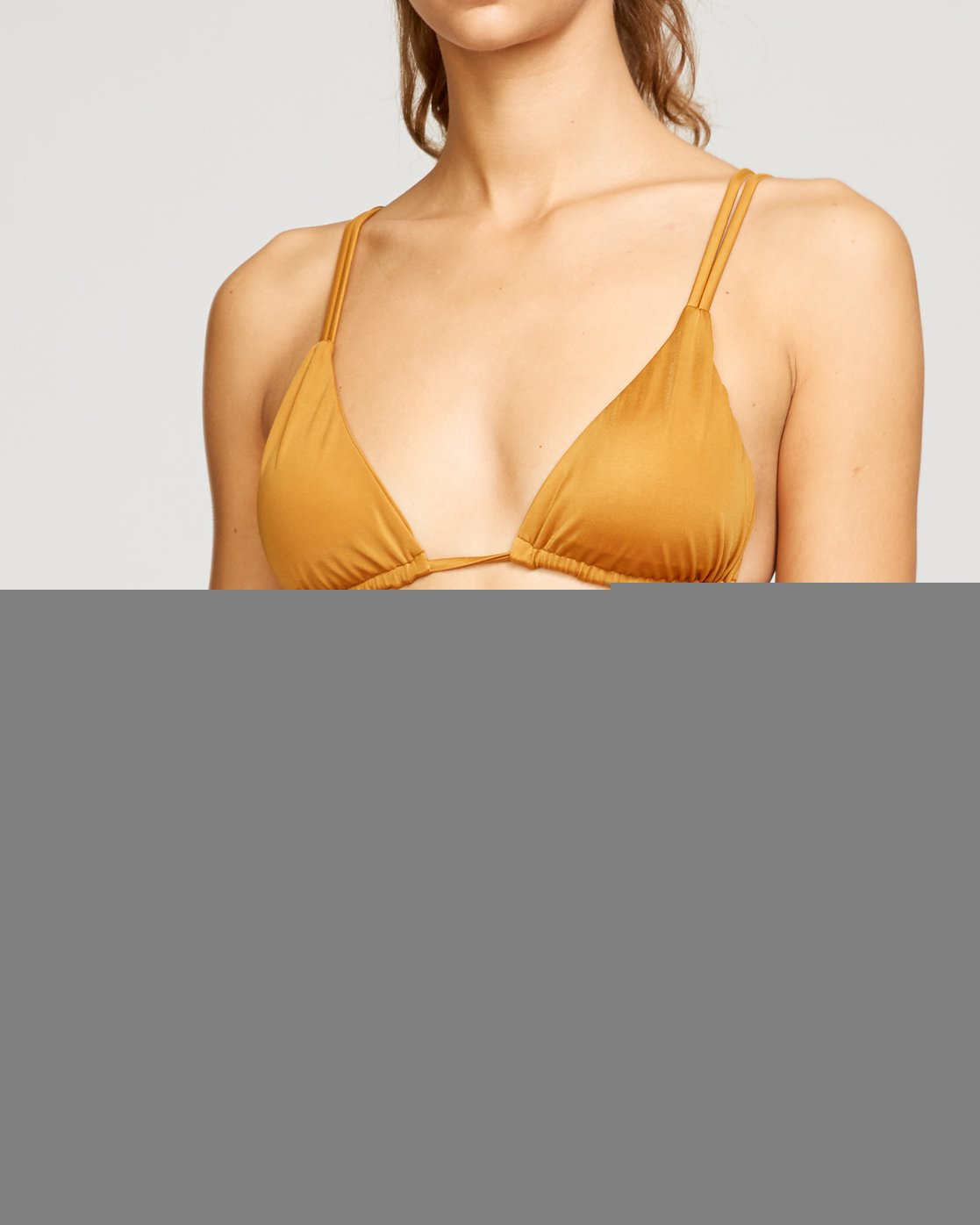 3 Solid Tri Bikini Top Red XT01URSO RVCA