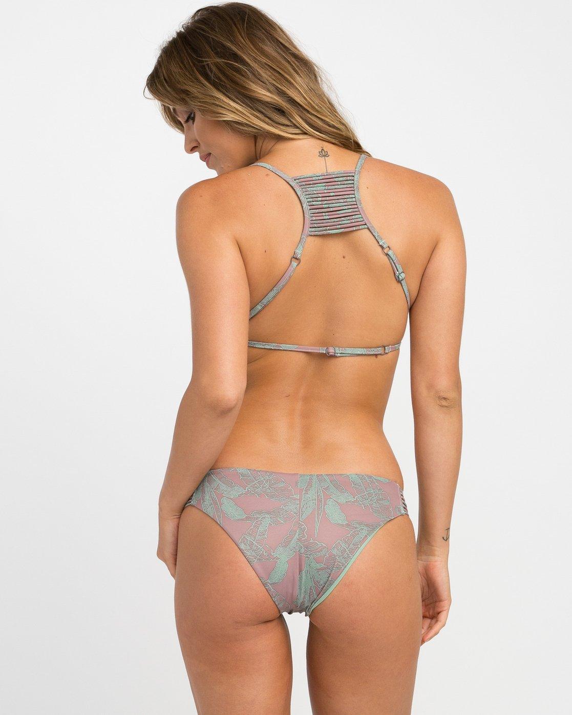 3 Palmer Reversible Triangle Bikini Top  XT06NRPT RVCA