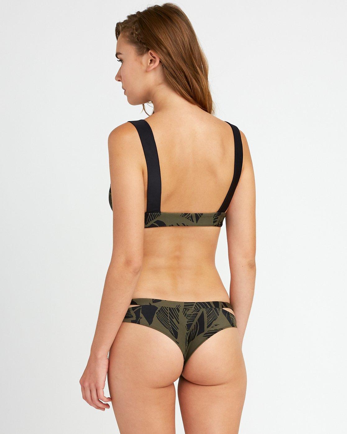 2 Harlo Bralette Bikini Top Green XT11URHT RVCA