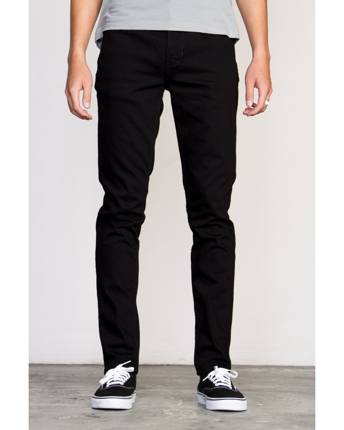 0 RVCA ROCKERS DENIM Black Z1PNRARVF6 RVCA