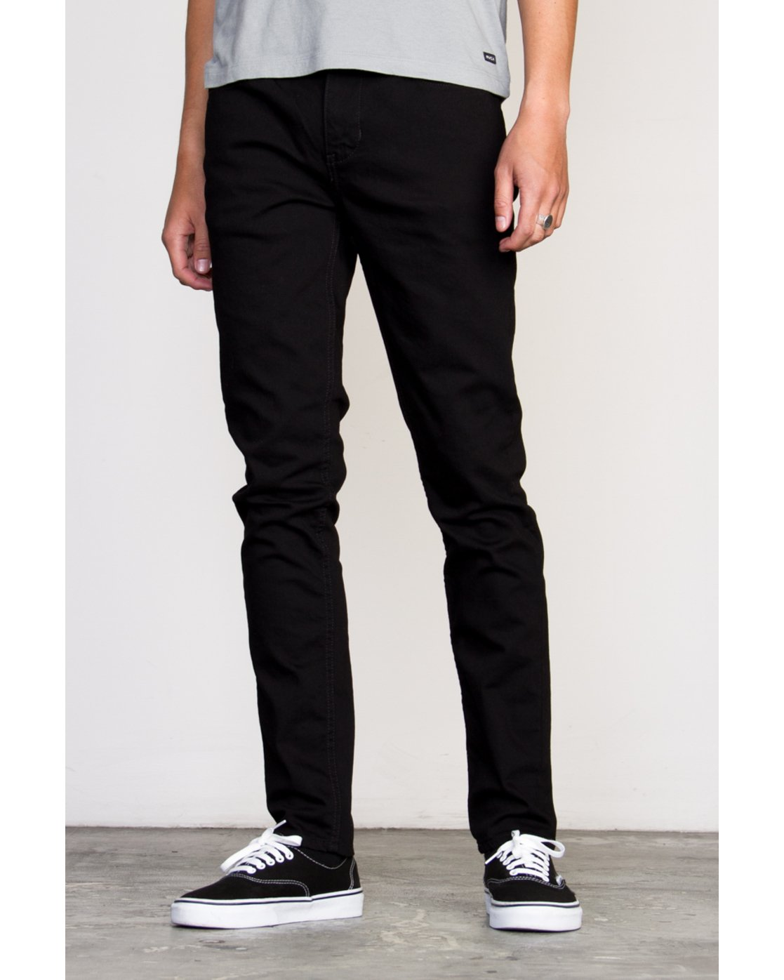 1 RVCA ROCKERS DENIM Black Z1PNRARVF6 RVCA