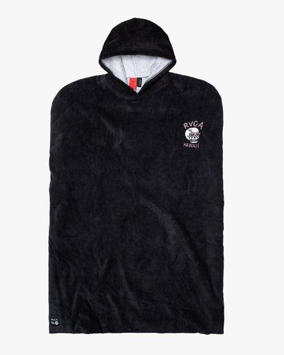 0 Luke P | Boys' Surf Poncho Changing Towel Black AVBAA00101 RVCA