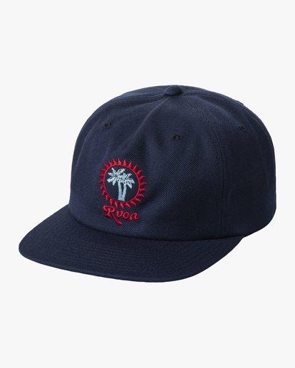 0 BOY'S BACKLIT SNAPBACK HAT Blue AVBHA00106 RVCA