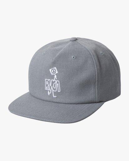 0 Boys' Strike Snapback Hat  AVBHA00107 RVCA