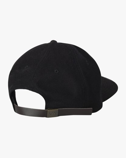 1 Matt Leines | Boy's Matt Leines Snapback Hat Black AVBHA00116 RVCA