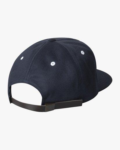 1 Boy's VA University Snapback Hat Blue AVBHA00117 RVCA