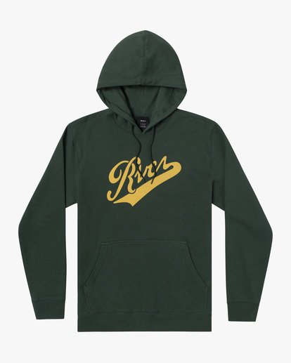 1 Boy's Pennant Pullover Hoodie Green AVBSF00105 RVCA