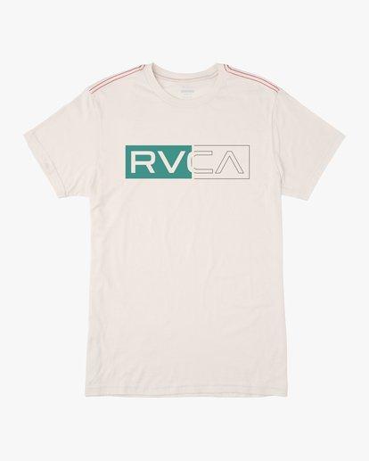 1 BOYS DIVIDER SHORT SLEEVE TEE  AVBZT00103 RVCA