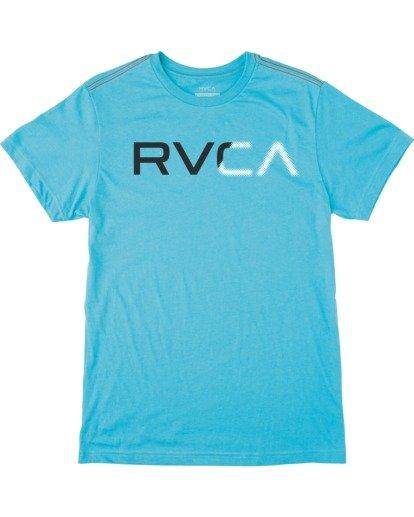0 Boy's Scanner Short Sleeve Tee Brown AVBZT00173 RVCA