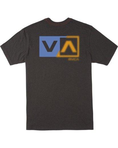 1 Boy's Scanner Short Sleeve Tee Black AVBZT00173 RVCA