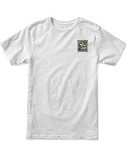 0 Boy's VA All The Way Short Sleeve Tee White AVBZT00180 RVCA