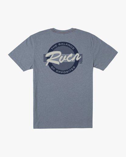 1 Boy's Homefield Short Sleeve Tee Grey AVBZT00204 RVCA