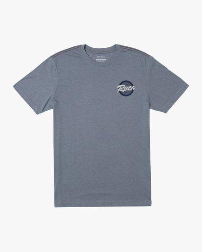 0 Boy's Homefield Short Sleeve Tee Grey AVBZT00204 RVCA