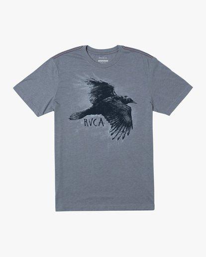 0 Ben Horton | Boy's Raven Short Sleeve Tee  AVBZT00207 RVCA