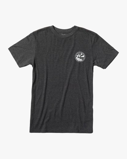 0 Boy's Sets Short Sleeve Tee Black AVBZT00208 RVCA