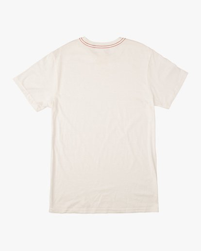 1 Boy's Pennant Short Sleeve Tee White AVBZT00211 RVCA