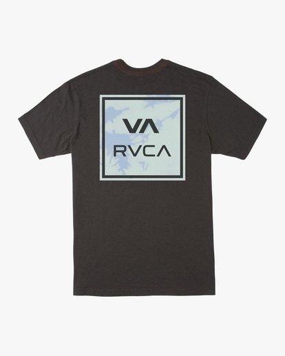 1 Boy's VA All The Way Short Sleeve Tee Black AVBZT00213 RVCA