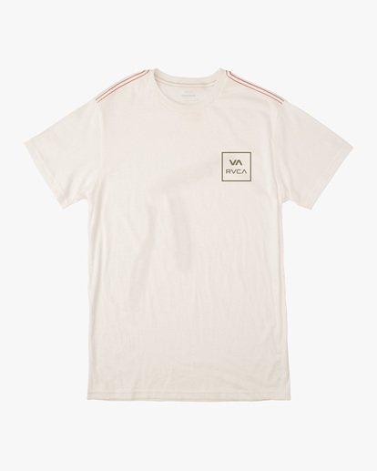 0 Boy's VA All The Way Short Sleeve Tee White AVBZT00213 RVCA