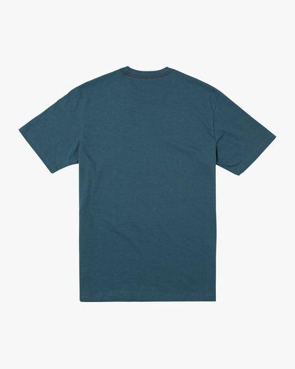 1 Boy's RVCA Athletic Short Sleeve Tee  AVBZT00214 RVCA