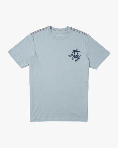 0 Boy's Stinger Short Sleeve Tee Blue AVBZT00215 RVCA