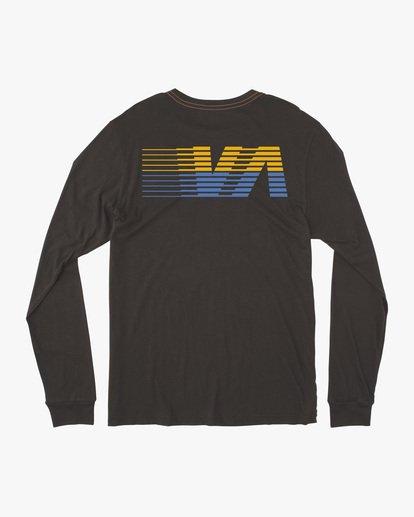 1 Boy's LA '84 Long Sleeve Tee Black AVBZT00217 RVCA
