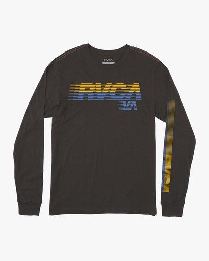 0 Boy's LA '84 Long Sleeve Tee Black AVBZT00217 RVCA