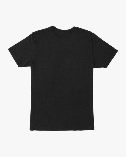 1 Boy's Peace Bones Short Sleeve Tee Black AVBZT00221 RVCA