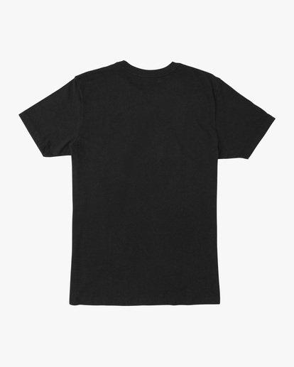 1 Boy's Cambridge Short Sleeve Tee Black AVBZT00222 RVCA