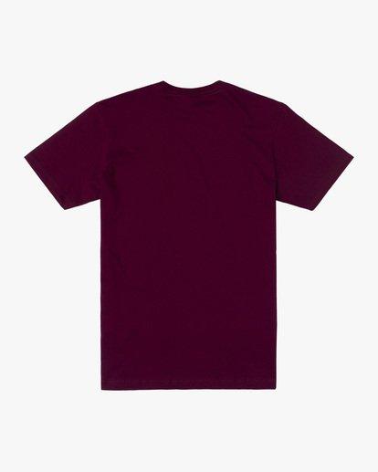 1 Boy's Cambridge Short Sleeve Tee Purple AVBZT00222 RVCA