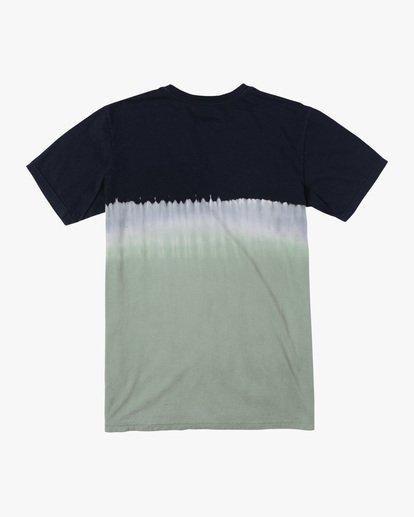 1 Boy's Small RVCA Tie-Dye Short Sleeve Tee  AVBZT00229 RVCA
