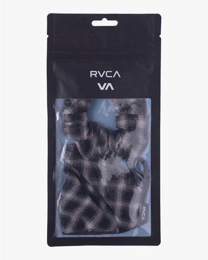5 MASK AND SCRUNCHIE Black AVJAA00101 RVCA