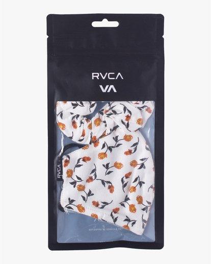 5 MASK AND SCRUNCHIE White AVJAA00101 RVCA