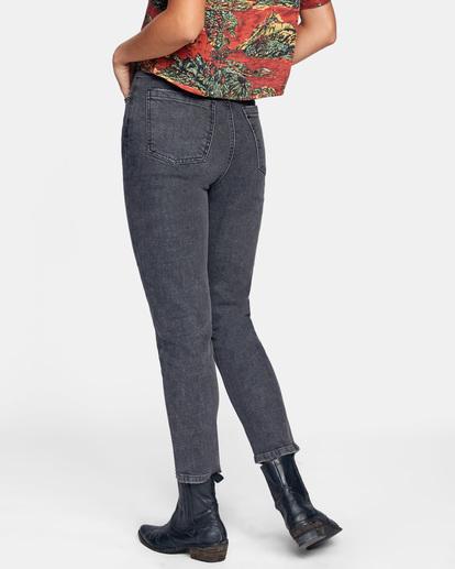 5 Stan High-Rise Denim Pants Beige AVJDP00102 RVCA