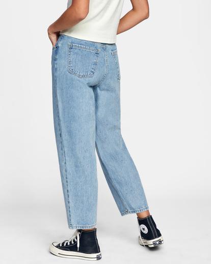 6 Daisy High-Rise Denim Pants Multicolor AVJDP00103 RVCA