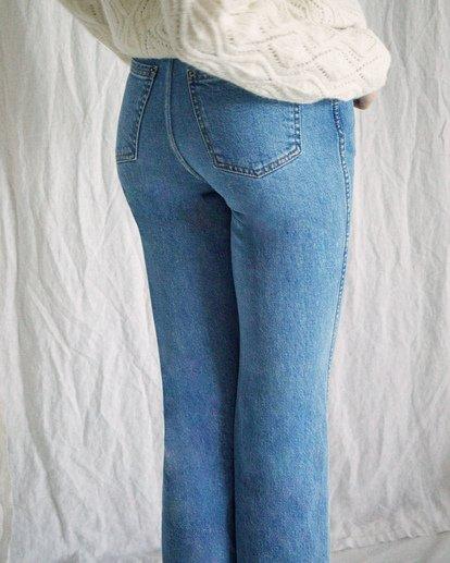 3 Camille Rowe | Livin Denim Pants Blue AVJDP00104 RVCA