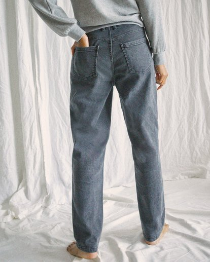 1 Camille Rowe | Pops Denim Pants Beige AVJDP00105 RVCA