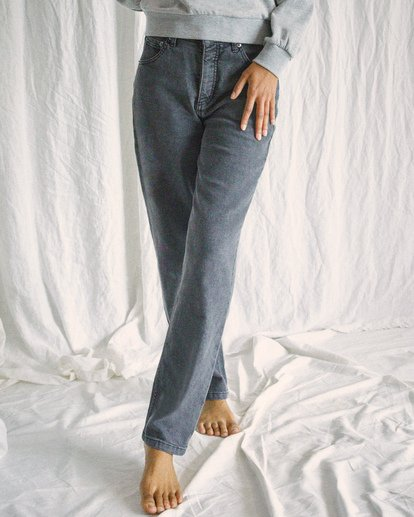 0 Camille Rowe | Pops Denim Pants Beige AVJDP00105 RVCA